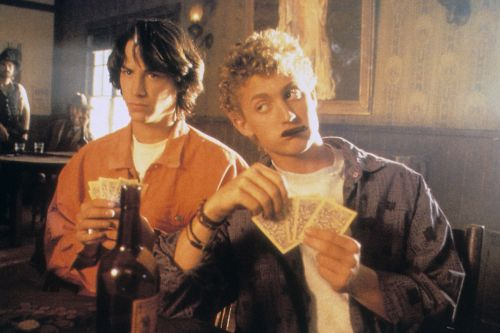 "Keanu Reeves Talks Potential 'Bill and Ted 3': ""Everybody's A Little Older Now"""