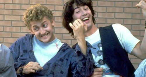 Bill & Ted Team Reunite to Reveal Excellent Adventure