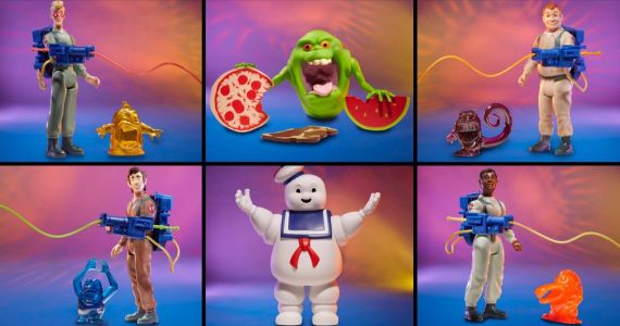 The Real Ghostbusters Retro-Style Action Figures Are Coming to Walmart This Spring