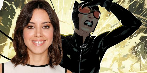 "Aubrey Plaza ""Auditions"" for Catwoman on The Late Show, Licks Stephen Colbert"