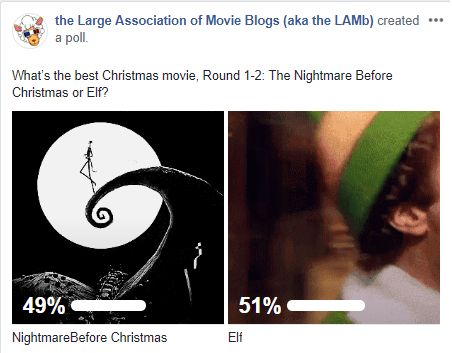LAMBracket: Best Christmas Movie Round 1-2 Results