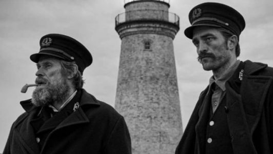 The Lighthouse Photo Features First Look at Willem Dafoe, Robert Pattinson