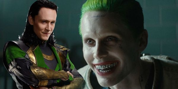 Striking Fan Art Casts Jared Leto as Loki & Tom Hiddleston as Joker