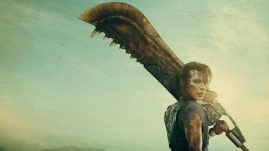 Milla Jovovich Totes the Giant Jawblade in New Monster Hunter Posters