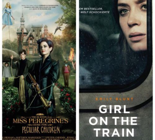 Miss Peregrine's Home For Peculiar Children (2016) & The Girl On The Train (2016) Reviews