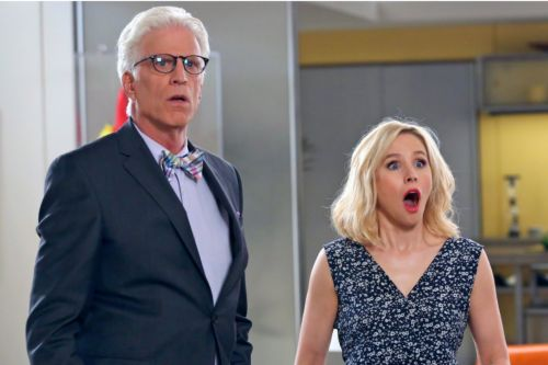 'The Good Place's Ted Danson and Kristen Bell Tear up Reflected on the Final Season