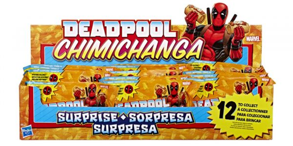 Hasbro Unveils Deadpool Chimichanga Toyline For SDCC 2018