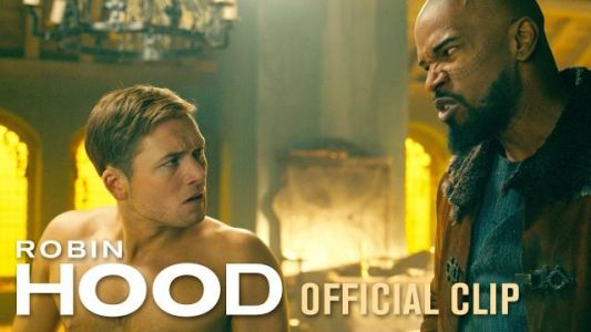 Robin Hood & Little John Talk About Their Plans in New Clip