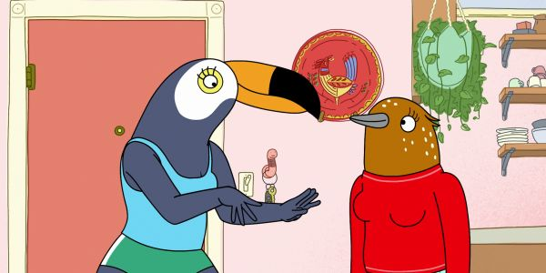Tuca & Bertie Trailer: Tiffany Haddish & Ali Wong Star In Netflix's Animated Comedy