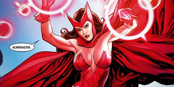 Scarlet Witch Turns 'Avengers Assemble' Into A Magic Spell