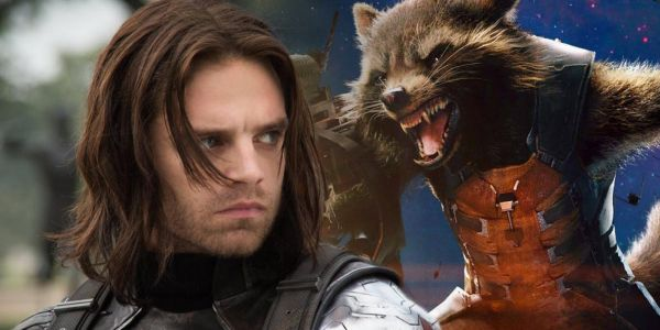 How Winter Soldier Would React to Meeting Rocket Raccoon