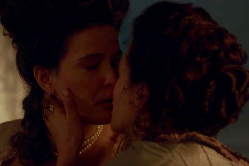 Liv Tyler and Jessica Brown Findlay Kissed On 'Harlots' And You Probably Missed It