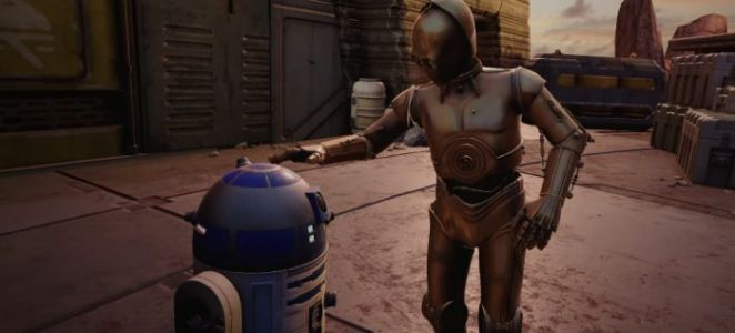 New 'Star Wars: Tales from the Galaxy's Edge' Teaser Arrives with Anthony Daniels Joining the Cast as C-3PO