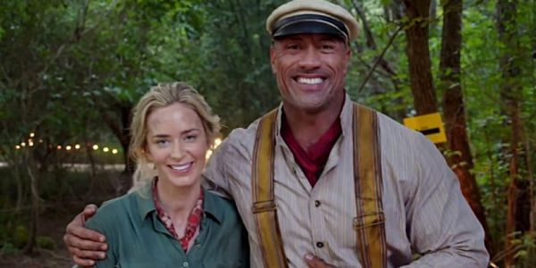 Check Out The Rock's Jungle Cruise Castmates Surprising Him On The Set Of Hobbs And Shaw