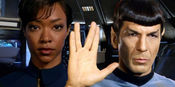 Spock & Burnham Have Complicated Relationship, Says Star Trek: Discovery Lead