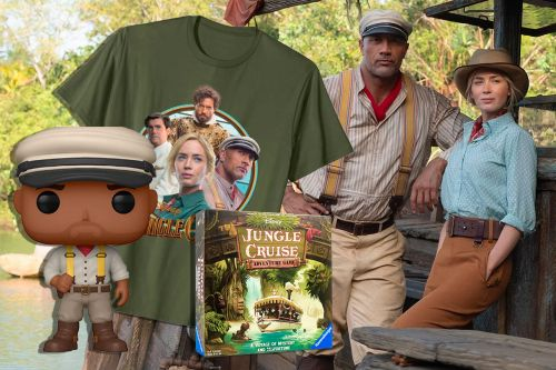 From Books to Board Games, Shop This 'Jungle Cruise' Merchandise in Time for the Disney Movie