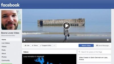 Quick Tip: Add a Cover Video to Your Facebook Page to Boost Your Filmmaking Brand