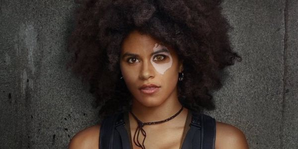Zazie Beetz Wants A Domino & Harley Quinn Crossover Movie with Margot Robbie
