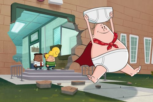 Stream It Or Skip It: 'The Epic Tales Of Captain Underpants' On Netflix, Where Two Smart-Alecks Turn Their Mean Principal Into A Superhero