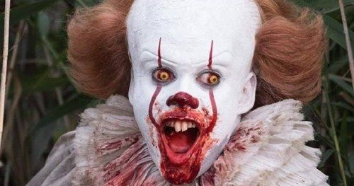 Pennywise Actor Opens Up About IT 2 and Scaring the Adult