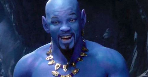 Will Smith Finds All the Aladdin Genie Memes Very FunnyGuy