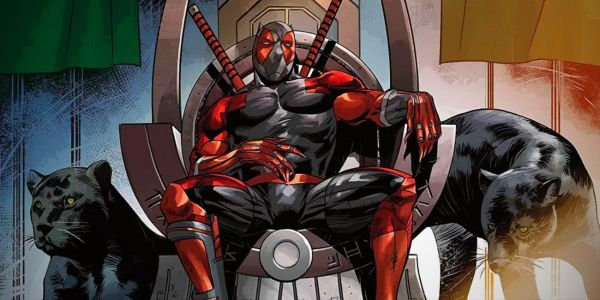 Deadpool is Taking Black Panther's Throne