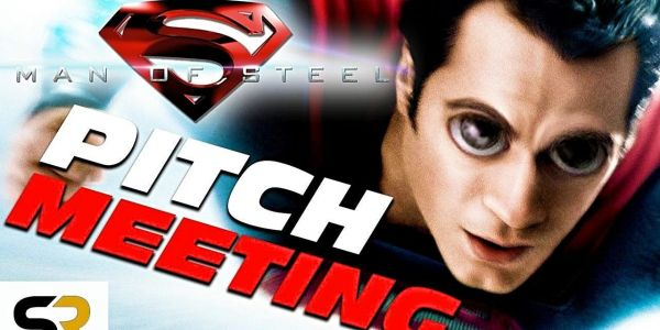 Man of Steel Pitch Meeting: Super Romantic