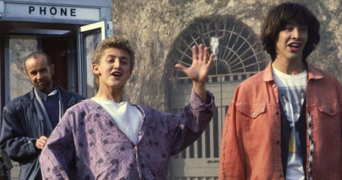 Bill & Ted 3 Set Becomes a Daily Treasure Hunt with an