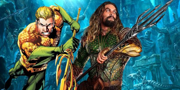 How The Aquaman Logo Changed Over Time