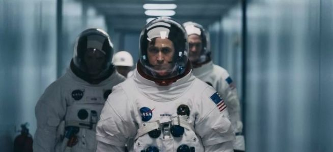 Exclusive 'First Man' Blu-ray Clip Highlights Filming at NASA
