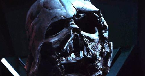 Darth Vader's Helmet Returns in New Rise of Skywalker