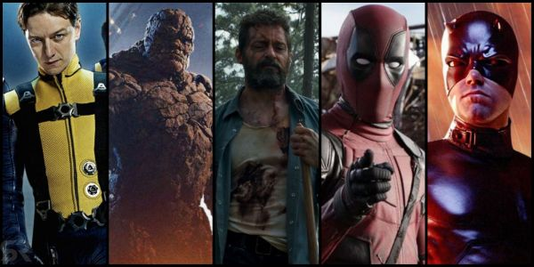 Every Fox/Marvel Movie Ranked, From Worst To Best