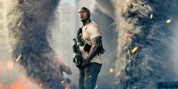 Dwayne Johnson Battles a Flying Wolf in New Rampage Trailer