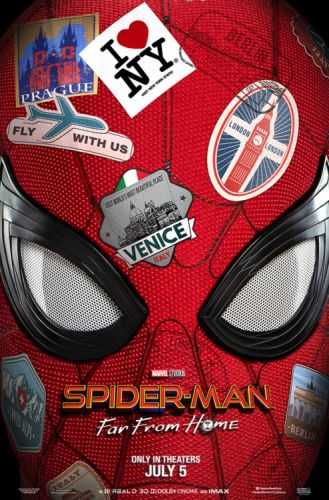 In theaters July 5. SpiderManFarFromHome 🕷️