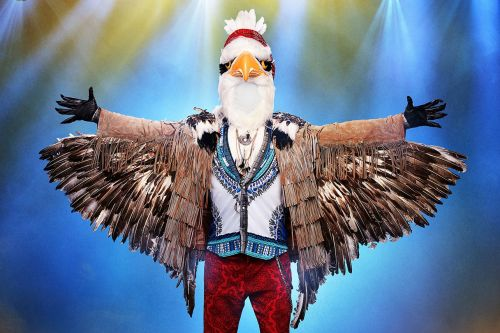 'The Masked Singer' Reveals Another Celebrity Masked Singer: And The Eagle Is
