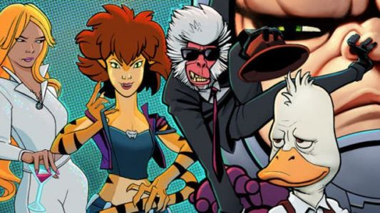 Marvel Cancels Howard the Duck and Tigra & Dazzler Animated Series At Hulu