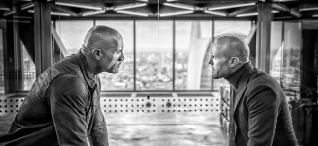 New 'Hobbs and Shaw' Photo Promises Lots of Intense Standing and Frowning