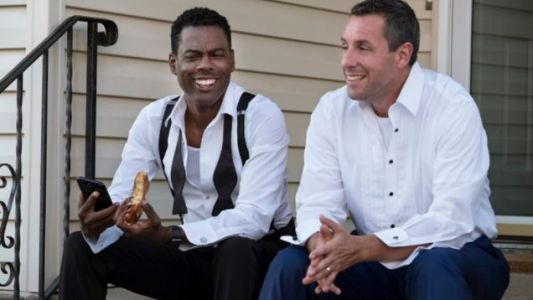 The First Trailer For Chris Rock And Adam Sandler's THE WEEK OF Just Landed