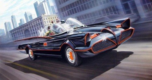 Classic 60s-Era Batmobile Spotted on Joker Movie SetA version of