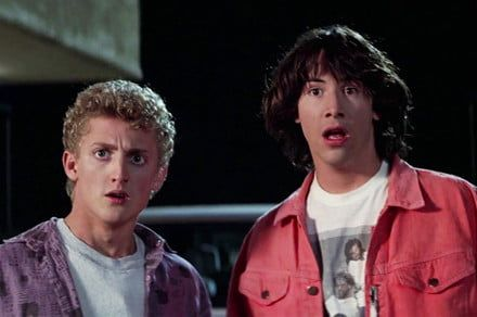 'Bill & Ted' 3 has a title, a director, and a most excellent photo