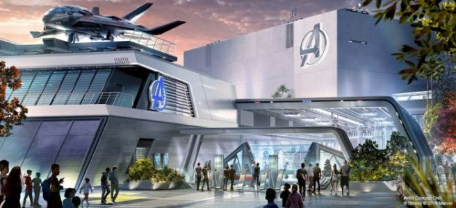 Fly One of Marvel's Quinjets into Battle with The Avengers at Disney's California Adventure