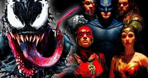 Venom Tears Past Justice League at the Box OfficeSony's
