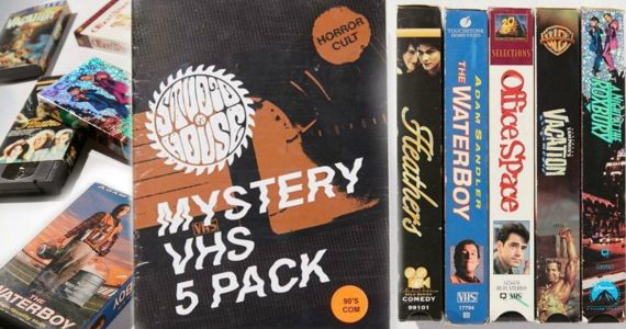 Urban Outfitters Wants $40 for Used VHS Mystery Pack