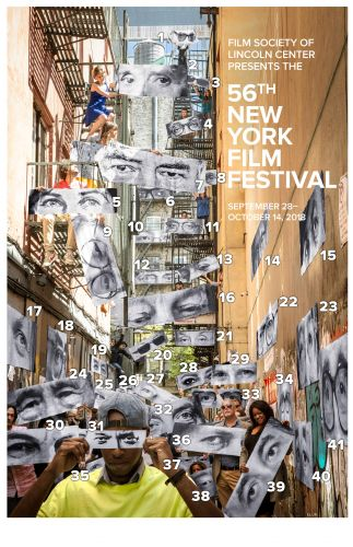 Revealing the Directors' Eyes on the NYFF56 Poster