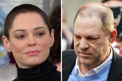 Watch Rose McGowan's Emotional Response To The Harvey Weinstein Arrest