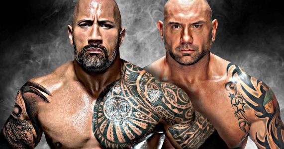 Bautista Blasts The Rock for His Bad Acting, But Thinks He's Still Really Special