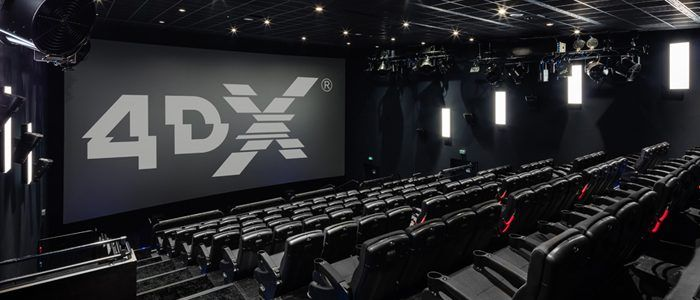 Sony Embraces 4DX, Announces 13 Films Will Use That Format in 2019