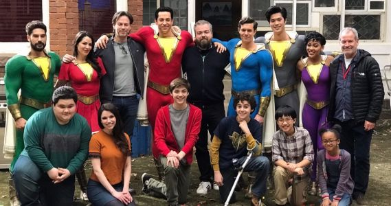 Shazam! Director Shares Behind-The-Scenes Secrets, Photos and Video During Livestream