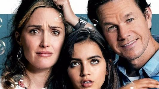 It's a Little Crowded in the New Instant Family Poster