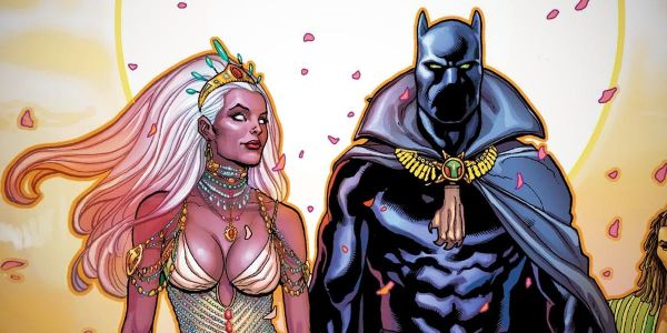 Black Panther & Storm Restart Their Marvel Comic Romance